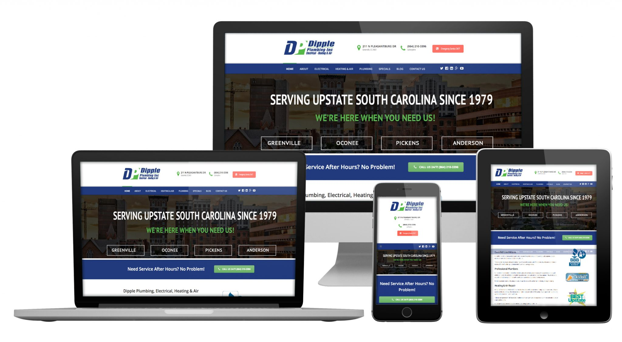 Web Design greenville sc