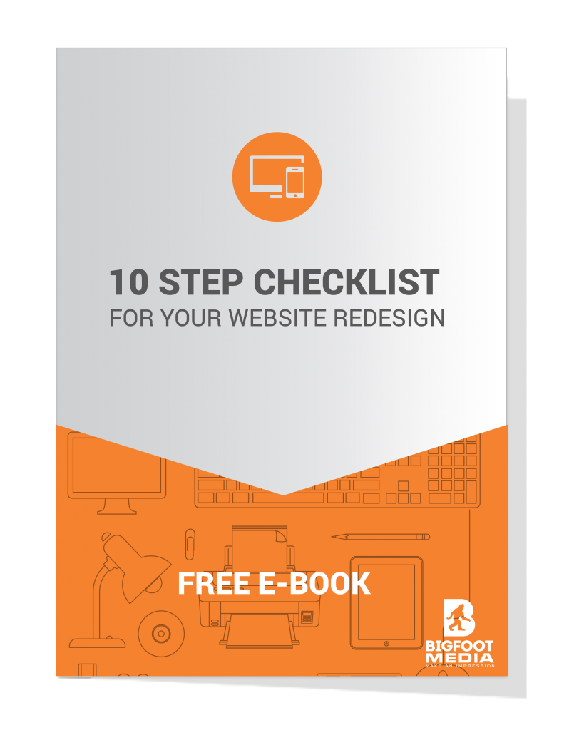 10 Step Checklist Website Redesign-e-book-cover