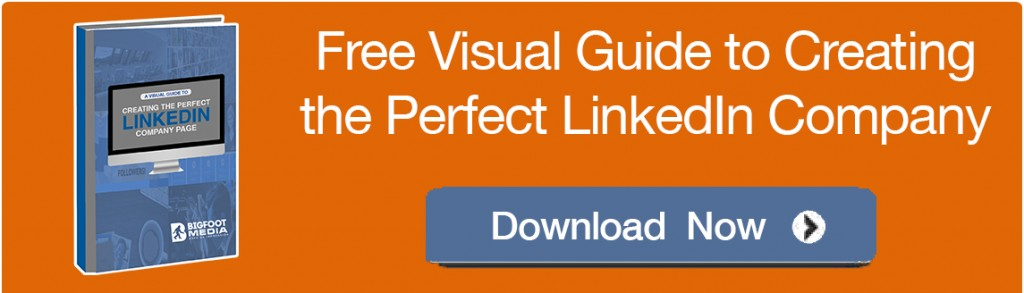 Visual Guide to LinkedIn Company Page -CTA