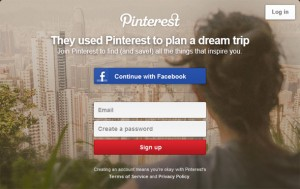 Pinterest Squeeze Page