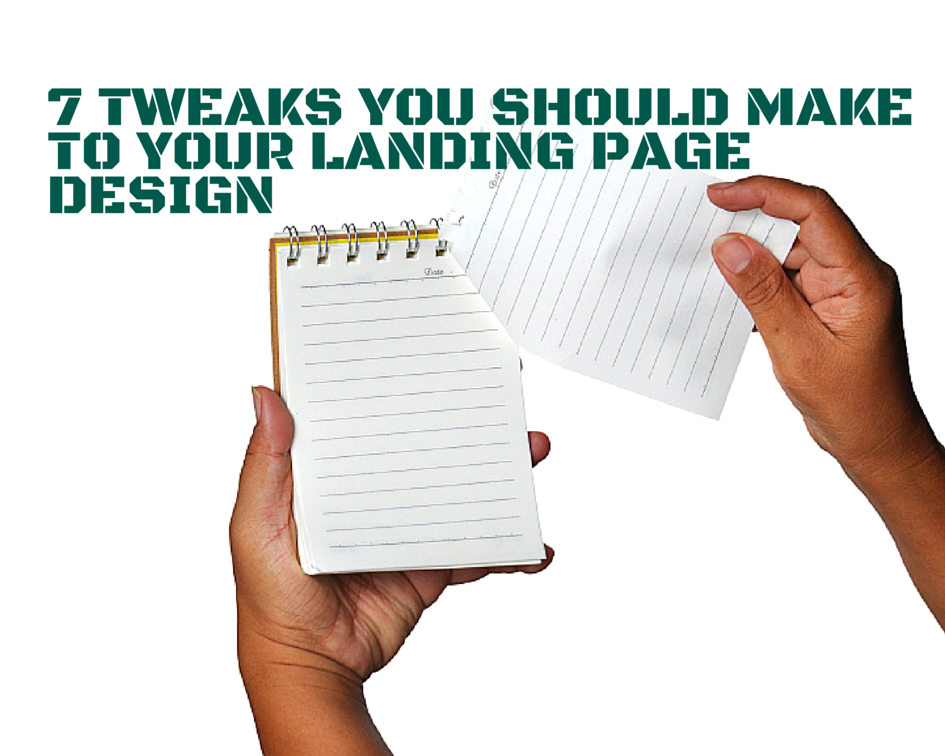 how to make a solid landing page