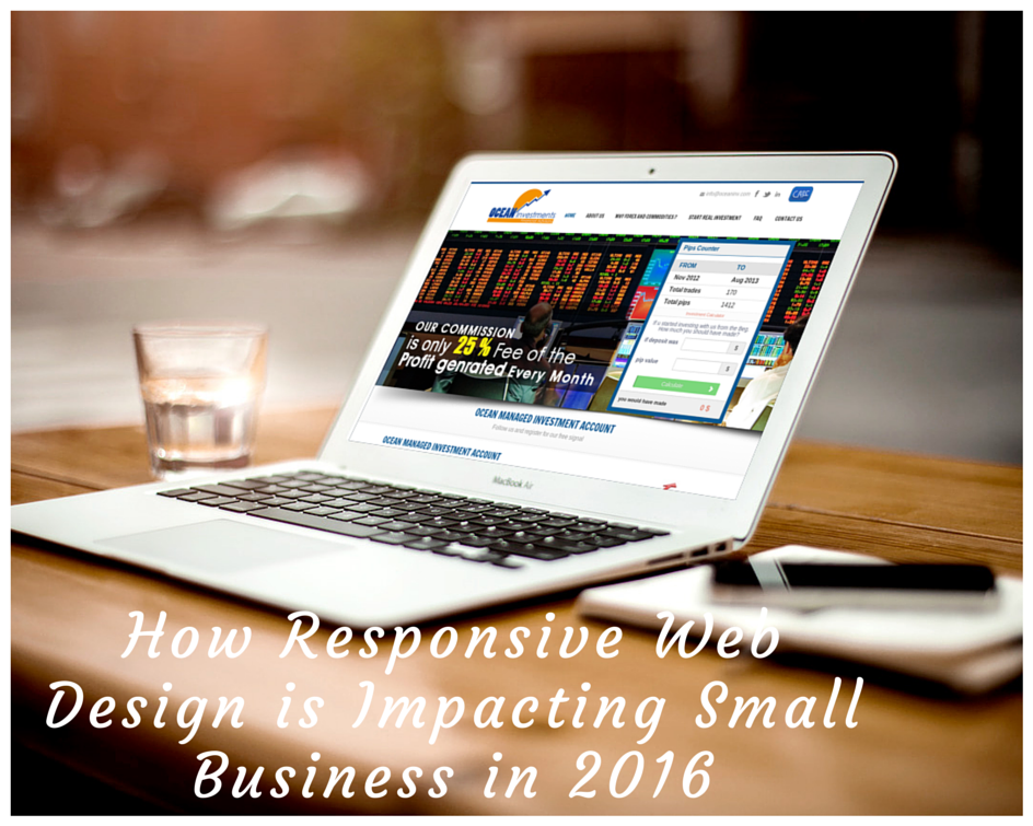 How Responsive Web Design is Impacting Small Business in 2016