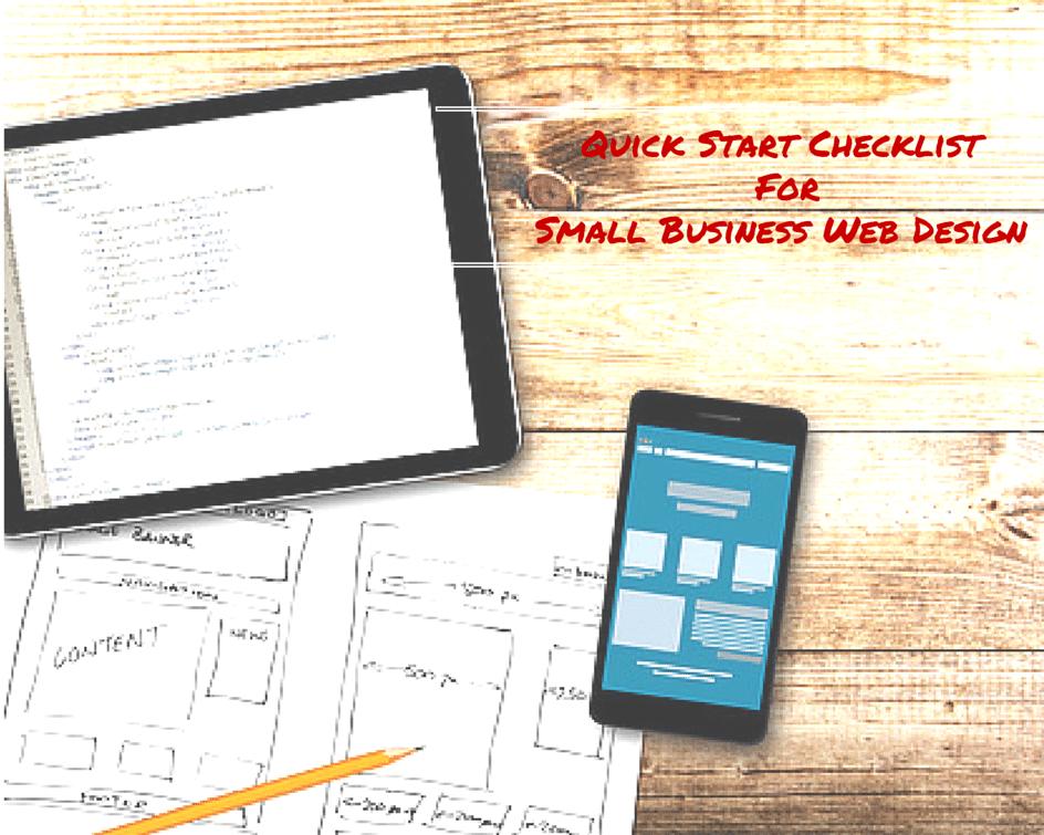 Quick Start Checklist For Small Business Web Design